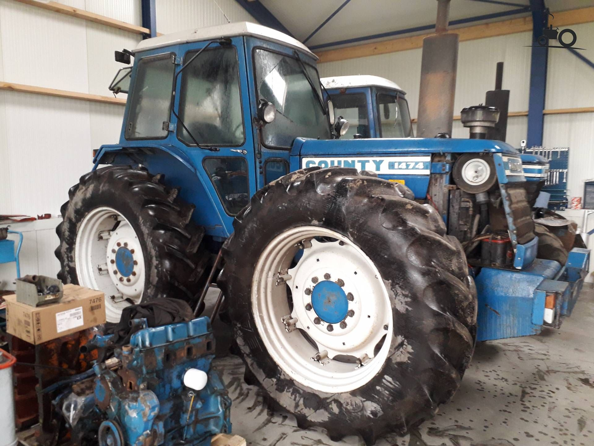 Ford 2000 Tractor Nose : County short nose foto van rpcounty ford tractors