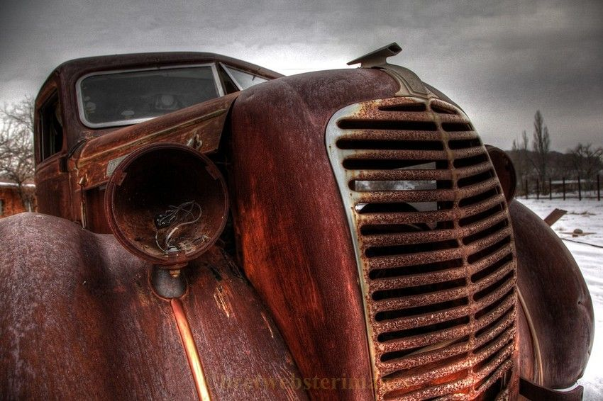 A special old rusty truck | i love Antiques: all things Vintage ...