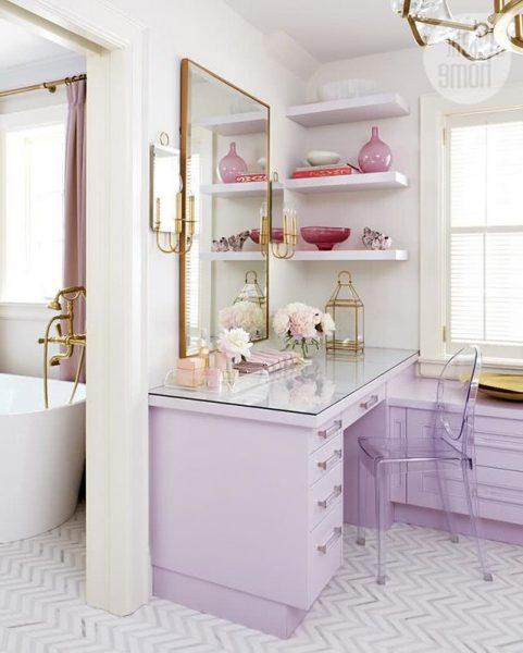 Colors for Bathrooms 2021 - Lilac #interior #bathroom # ...