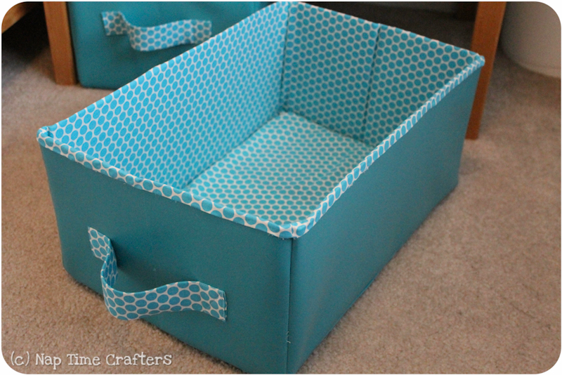 Merveilleux Collapsible Storage Bins Tutorial   Peek A Boo Pattern Shop