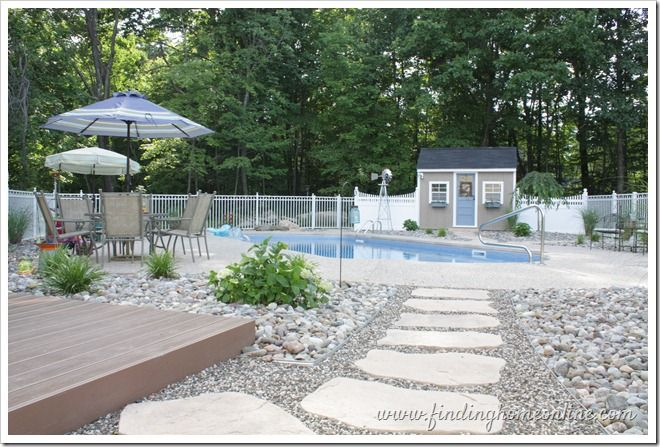 our backyard reveal | landscaping, backyard and backyard makeover