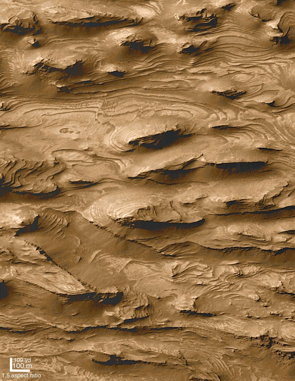 See Explanation Clicking On The Picture Will Download The Highest Resolution Version Available Water On Mars Craters Of The Moon Space Images