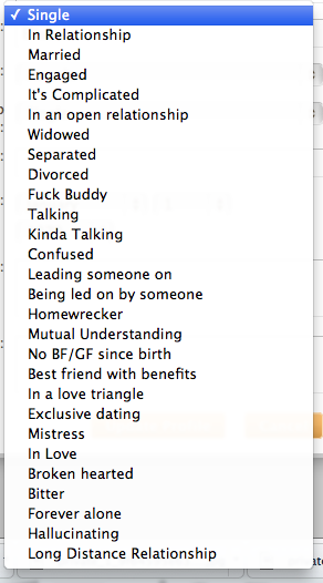 What if the relationship status on facebook was like this?