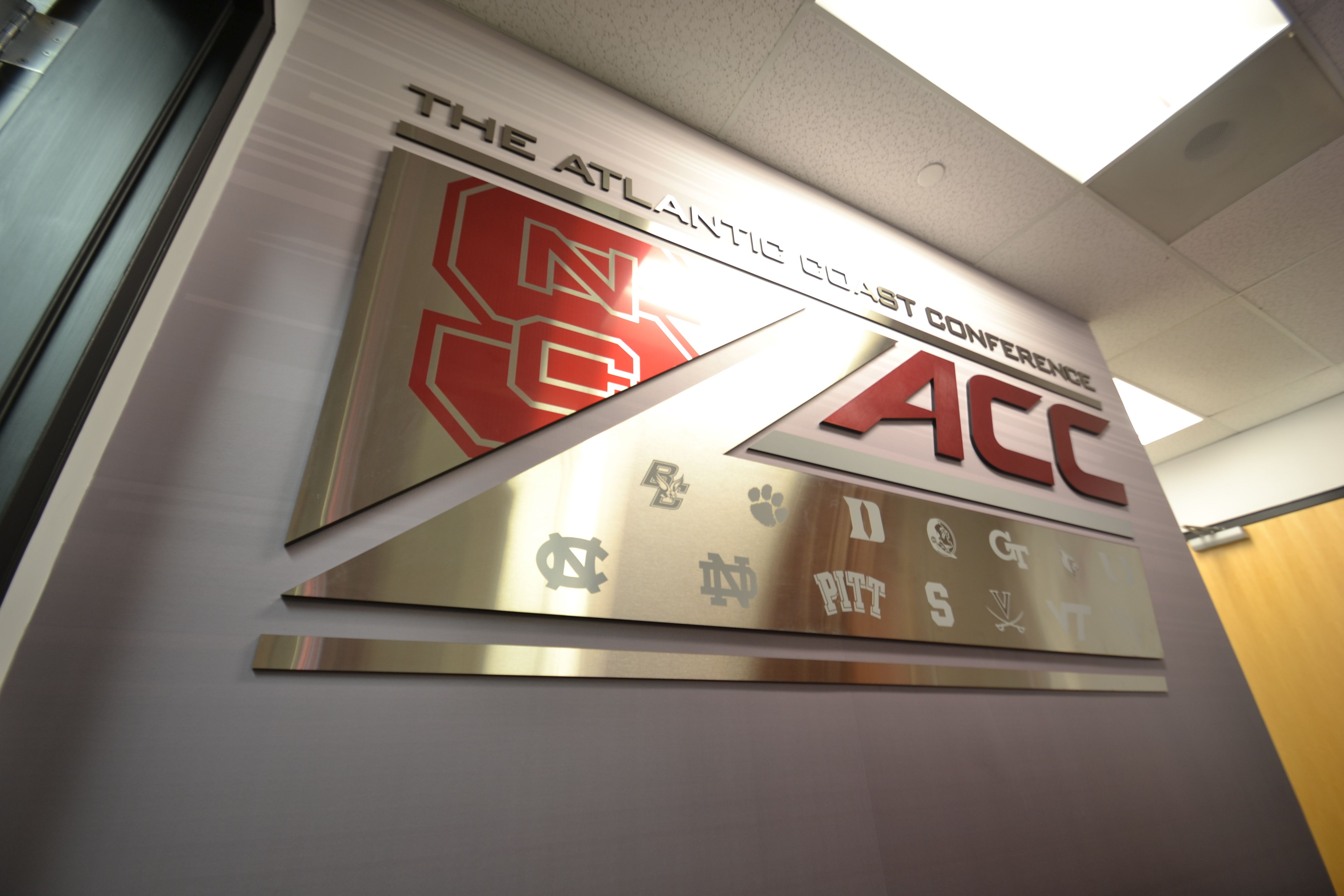 Acc display pnc arena north carolina state university