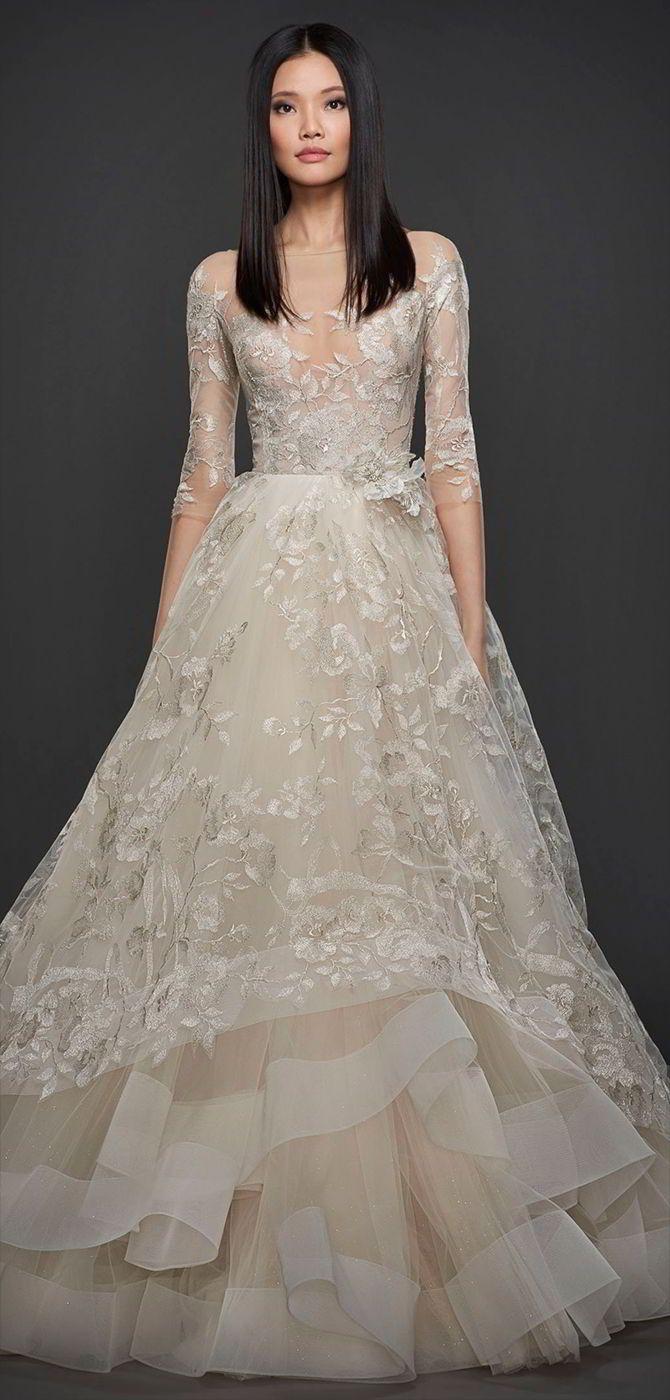 Zuhair Murad DORY| Embroidered Tulle Wedding Dress | Designer Bridal Room