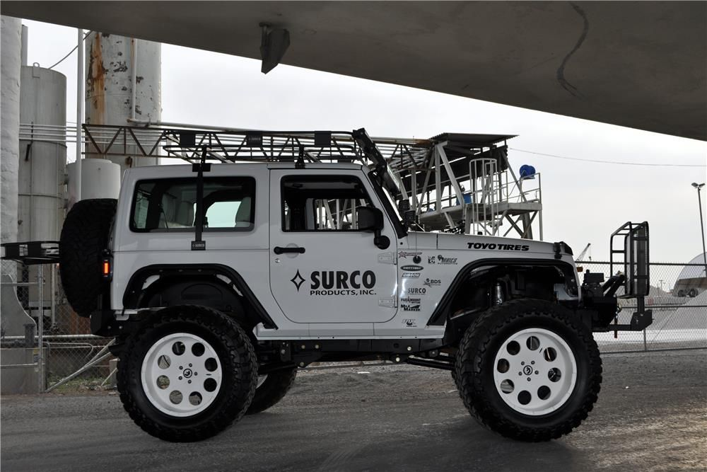 This Jeep Was Designed And Built For Surco Products For Display In Their Booth At The 2014 Sema Show In Las V 2012 Jeep Wrangler Custom Jeep Wrangler 2012 Jeep