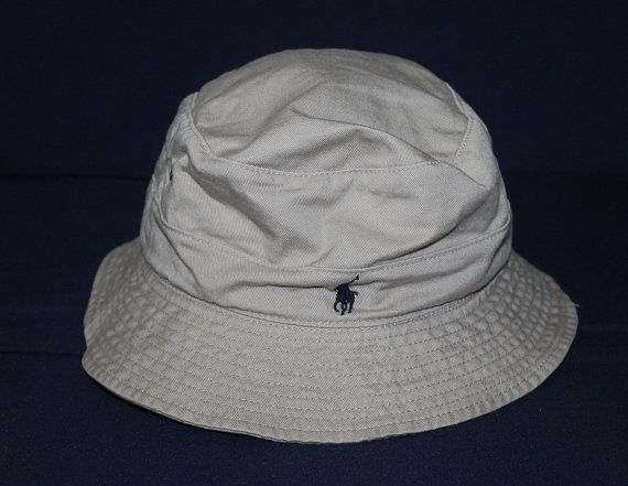 Vintage Polo Ralph Lauren Bucket Hat Pony Sportsman Fishing Hunting Golf Ski  by ForYourWear on Etsy 373d4034721