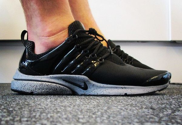 bad3f6875577 Nike Air Presto Genealogy Of Free (Black Cement Grey)