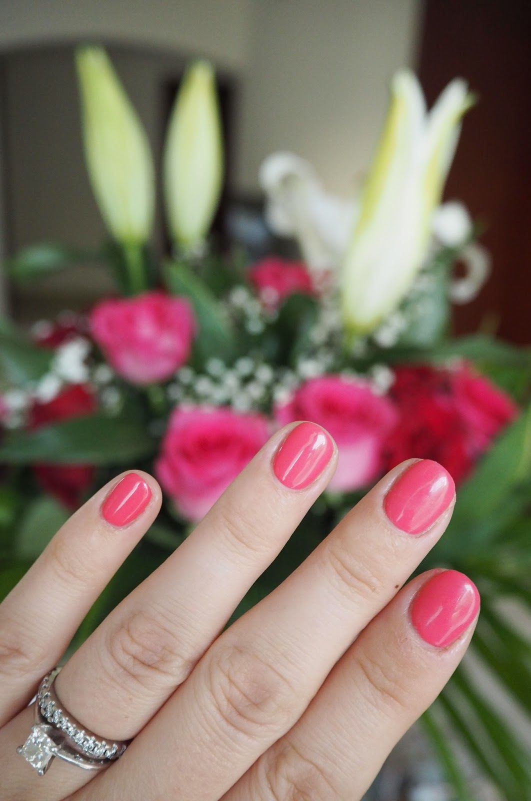 Maybe you would like to learn more about one of these? Gelish manicure in 'Passion' / The White Room Spa Dubai ...