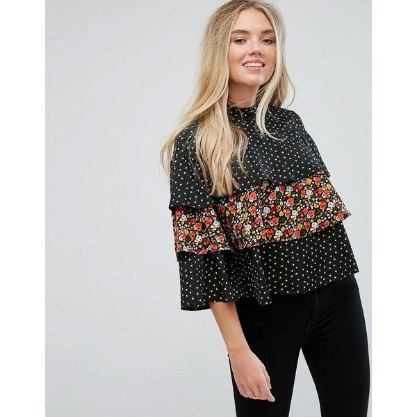 Influence Top RON Mix Tiered Match In And Print110 tshCQrdx