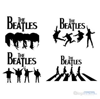 The Beatles Logo Vector Cdr In 2021 The Beatles Vector Logo Rock Tattoo