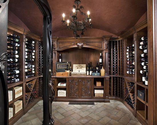 WINE CELLAR \u2013 Traditional Wine Cellar Design, Pictures, Remodel