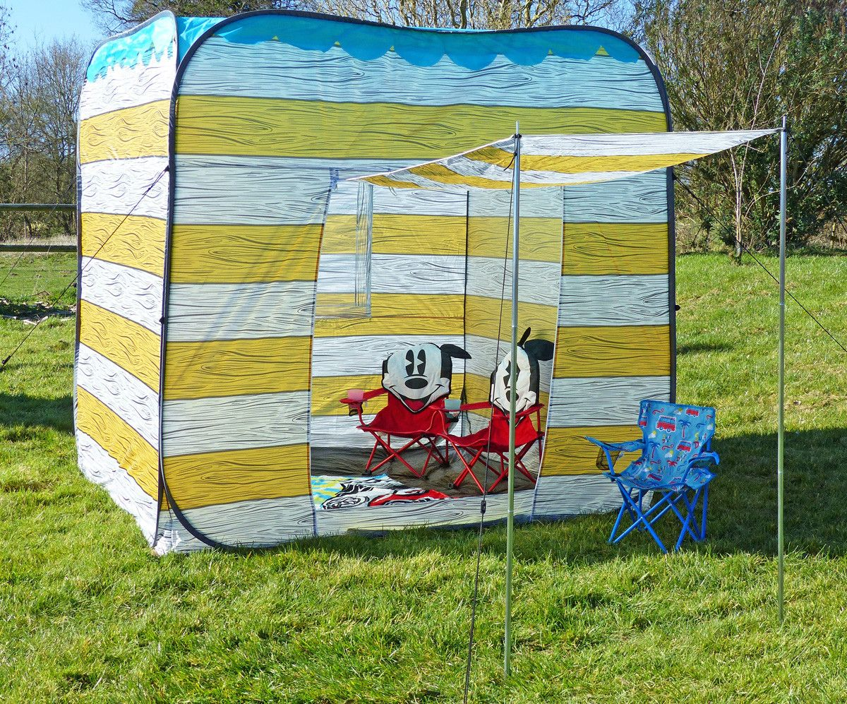 2m square Pop Up Beach Hut Pops Up and easy to put away UV +35 & 2m square Pop Up Beach Hut Pops Up and easy to put away UV +35 ...