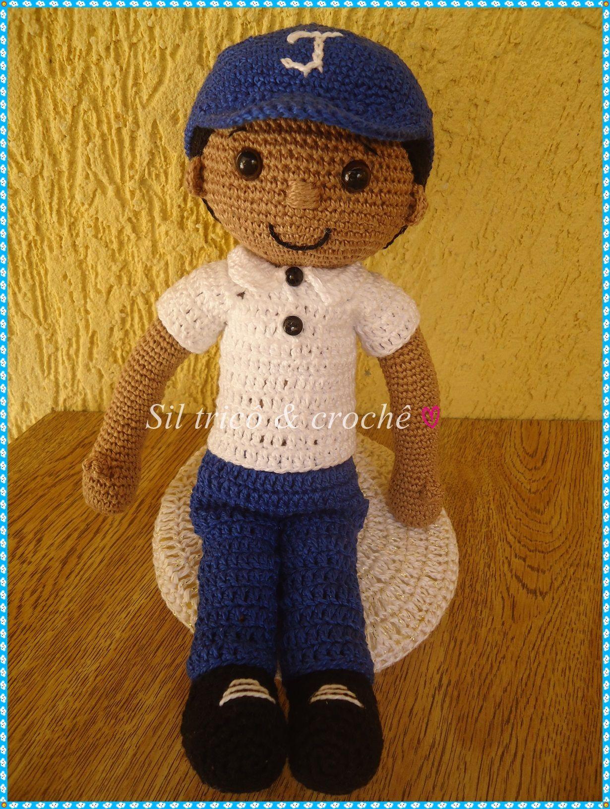 Amigurumi menino Crochê | amigurumi | Pinterest