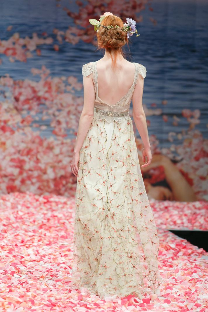 Claire Pettibone's New Wedding Dress Collection Is Paradise On Earth | OneWed