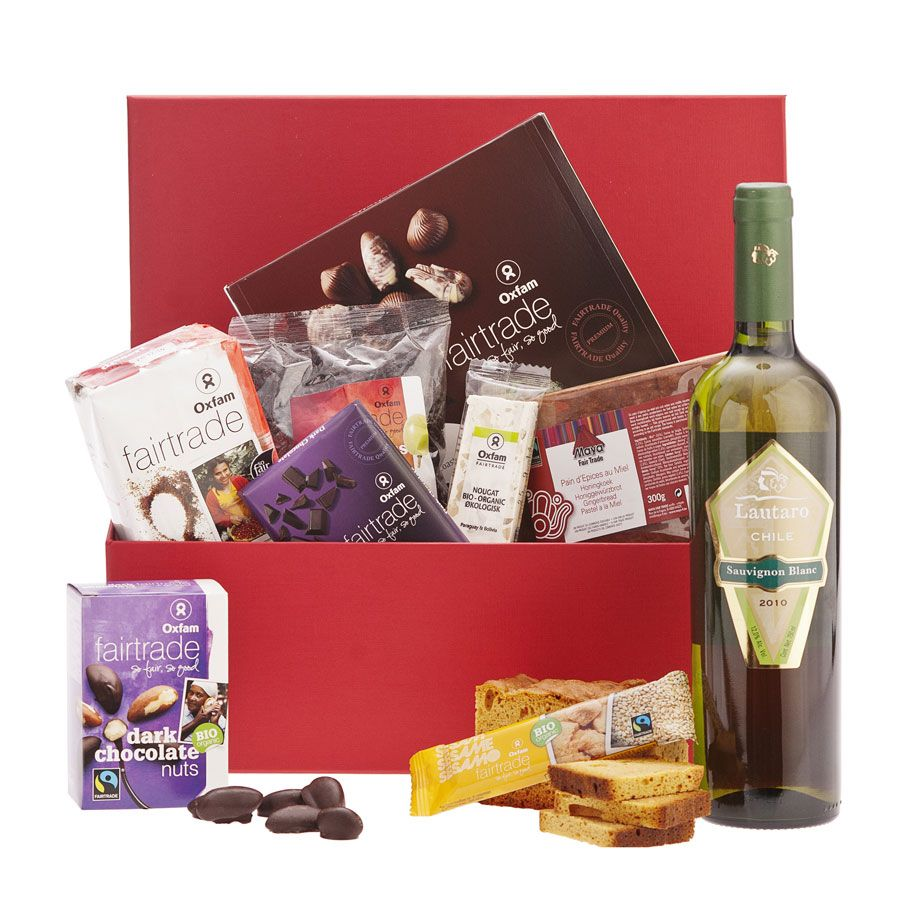 Fair trade gift box fair trade gift gifts snack gift