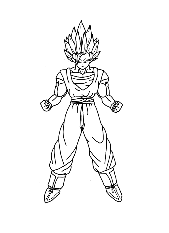 How To Draw Goku Step By Step How To Draw That Goku Drawing Drawings Goku