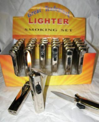 Out the front otf switchblade lighter | Likes | Switchblade