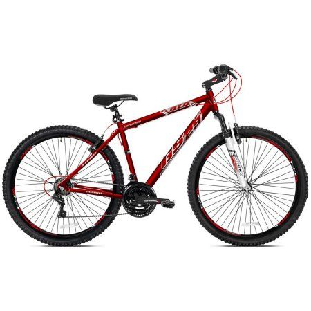 67316dc0bb7 29 inch Men's Genesis GS29 Mountain Bike, Satin Red | Products | 29 ...
