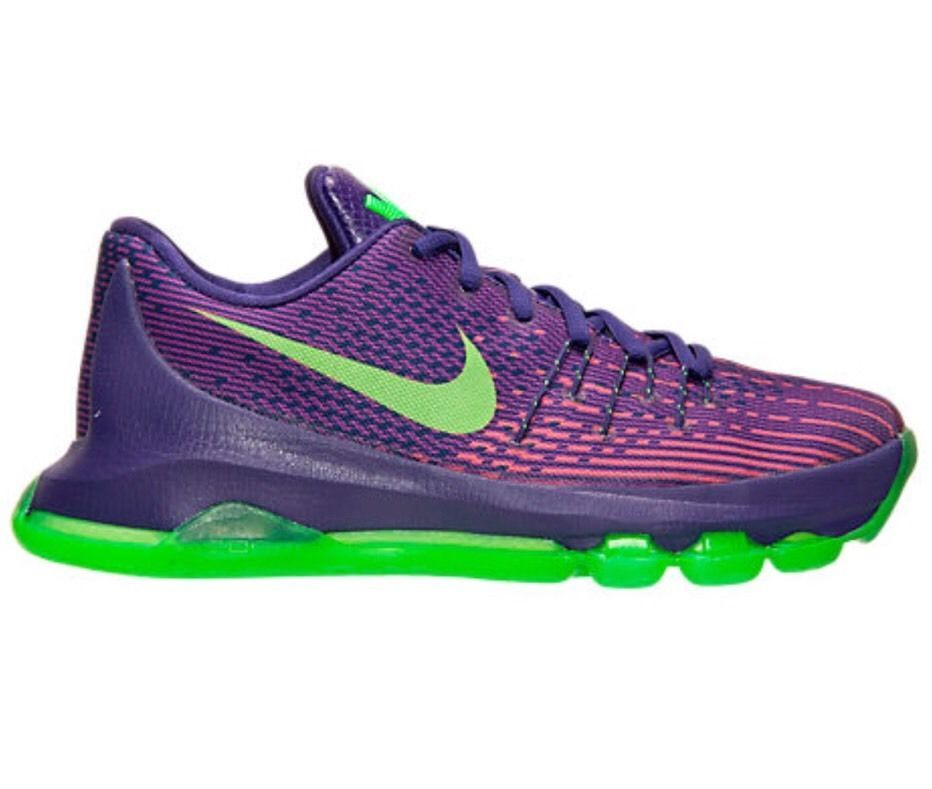 Nike Kevin Durant 8 (GS) 768867 535 Basketball Size 5 Youth Purple/Green