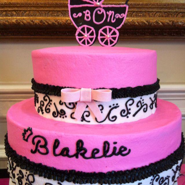 Nat's baby shower cake by Misty Spencer