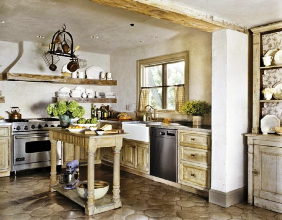 Get The Warm Decorating Ideas Of Rustic Country Style French Farmhouse  Kitchen From Our Photos. Kitchen Dining Country Is For Sure To Add Value In  Your Home ...