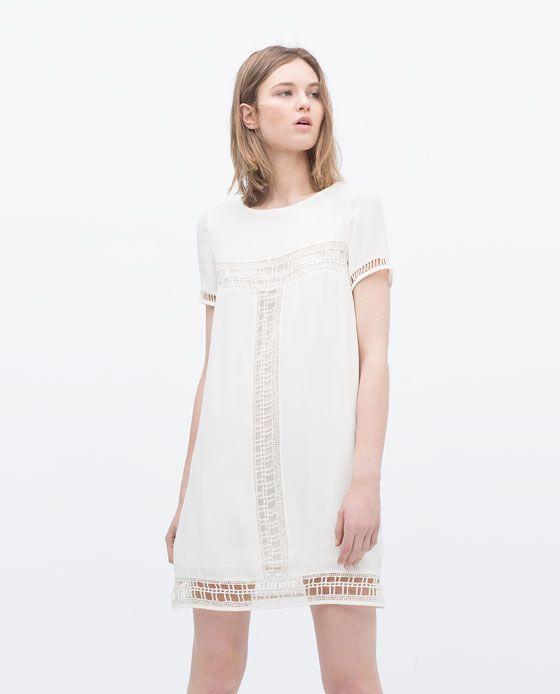 Kleid mit Posamenten | loveit | Pinterest
