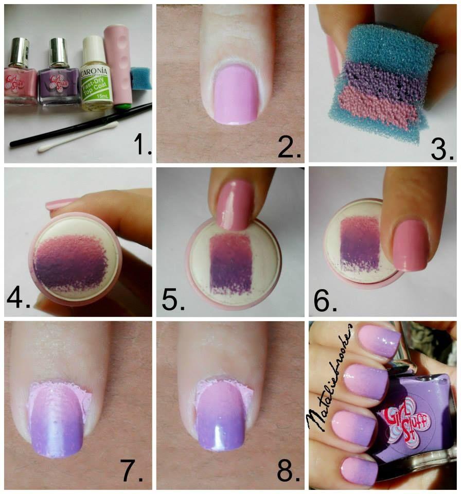 neat trick   Copyable Nails   Pinterest   Pedi, Manicure and Hair ...