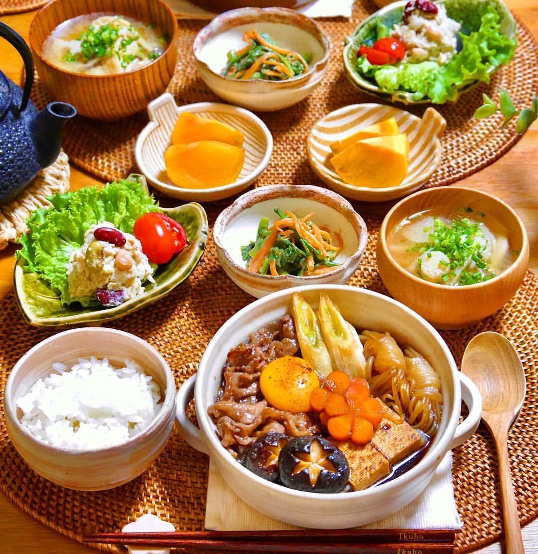 豆腐 すき焼き 肉