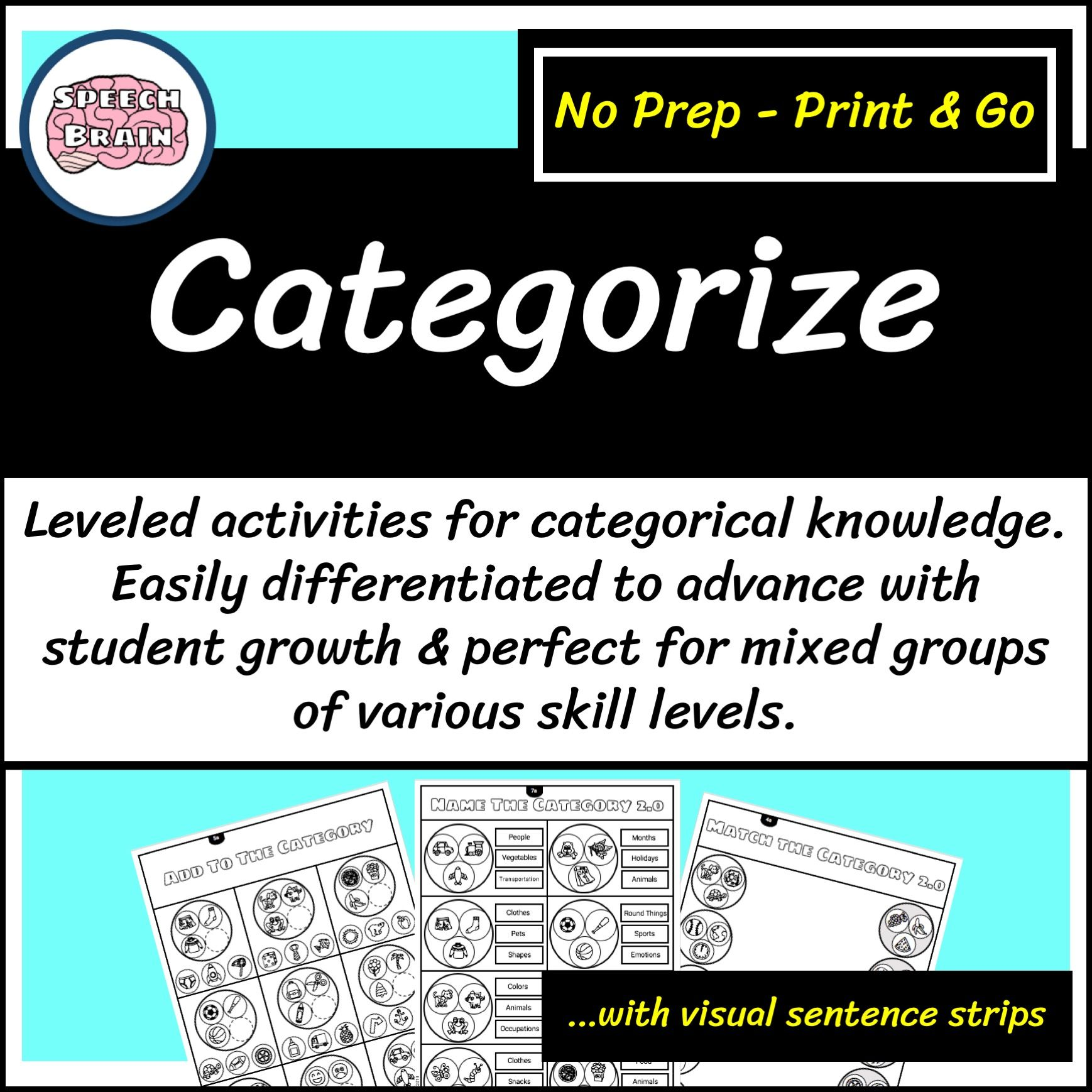 Categories Leveled Worksheets For Speech Therapy