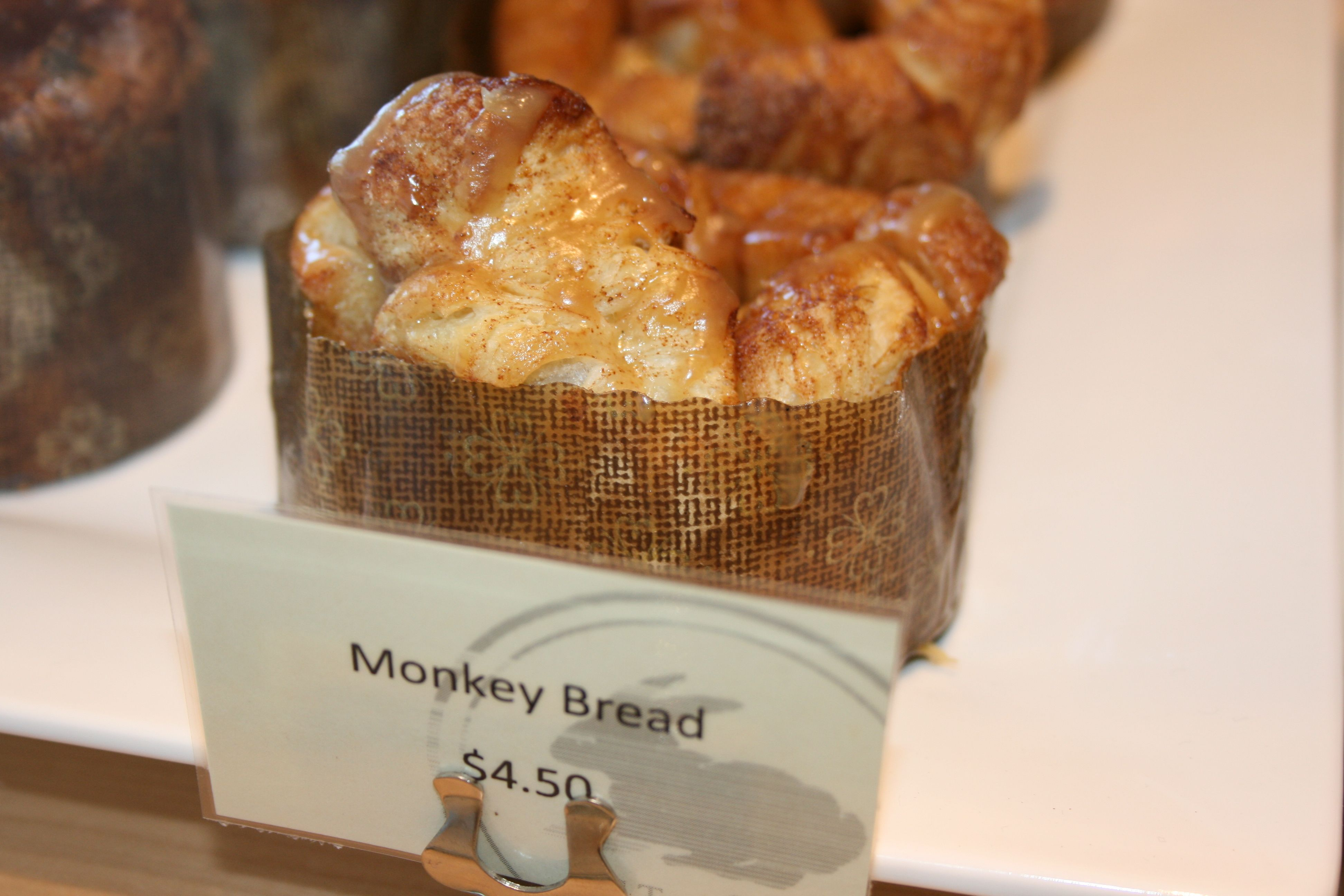 Welcome back Oakville Grocery! ~ Monkey bread - a fave but they run out early!  my #napa valley vacation
