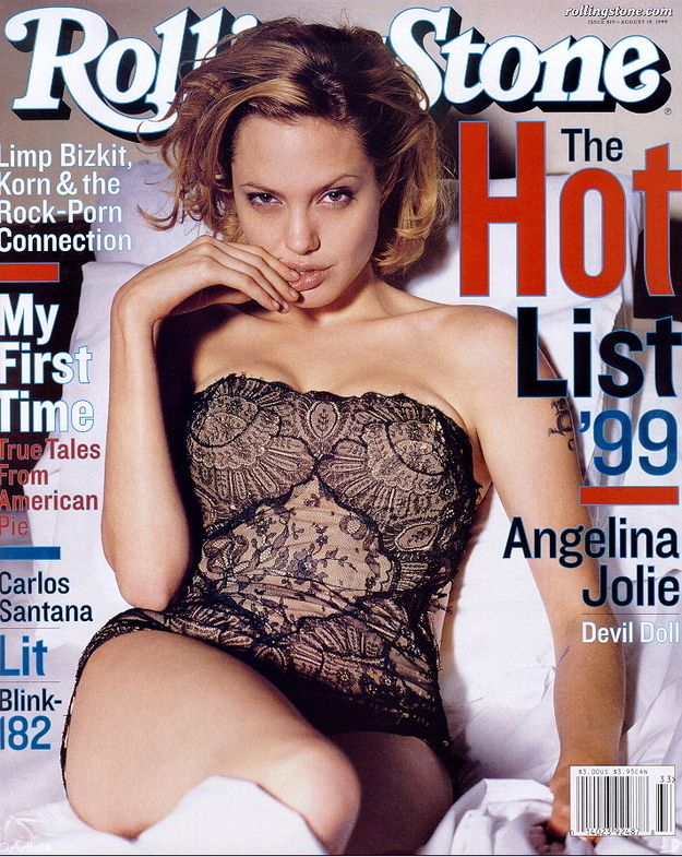 The 25 Sexiest Rolling Stone Covers Of All Time Angelina