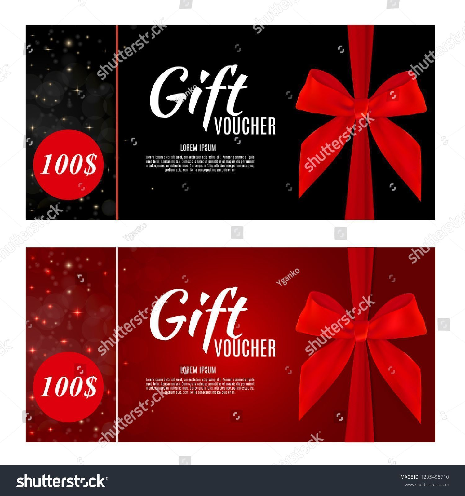 Photo of Luxury Members, Gift Card Template for a festive gift card, coupon and certifica…