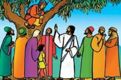 free clip art of zacchaeus and jesus art and stuff pinterest rh pinterest com Zacchaeus in a Tree Printable Zacchaeus Craft