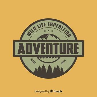 Download Vintage Adventure Logo Background For Free In 2020 Adventure Logo Adventure Logo Design Logo Background