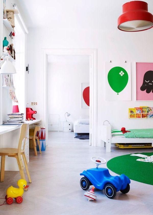 kinderzimmer dekorieren eine lebensfrohe welt schaffen kinderzimmer pinterest. Black Bedroom Furniture Sets. Home Design Ideas
