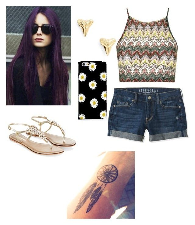 """Summer Days"" by zeniboo ❤ liked on Polyvore featuring ki-ele, Topshop, Monsoon, Aéropostale and CO"