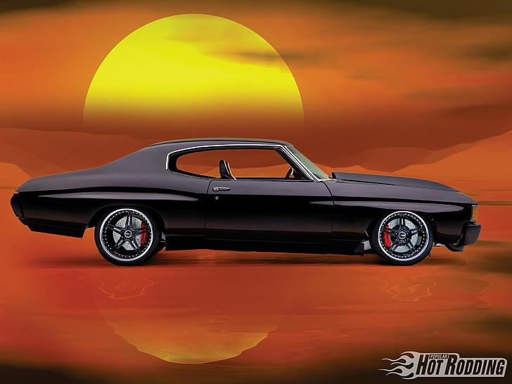 Vehicles Hot Rod Chevrolet Classic Car Muscle Car Hd Wallpaper Chevy Chevelle Chevelle Chevelle Restoration