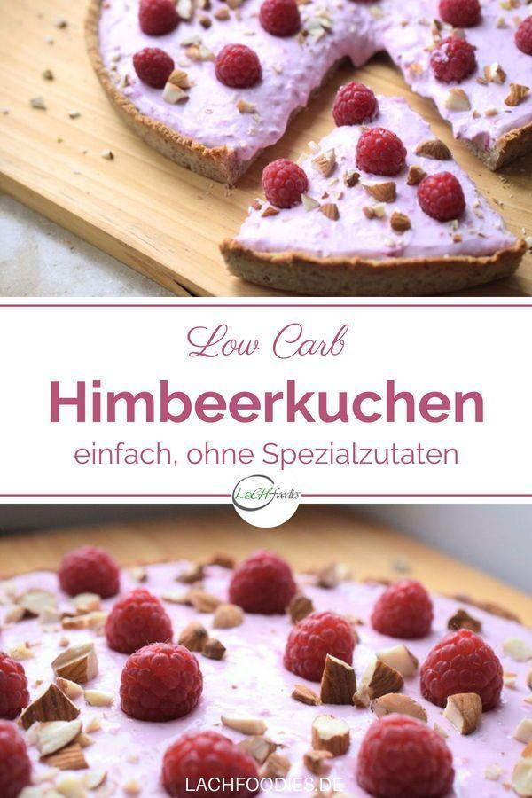 Himmlischer Low Carb Himbeerkuchen Rezept Himbeerkuchen Kuchen Ohne Zucker Und Kuchen Und Torten Rezepte