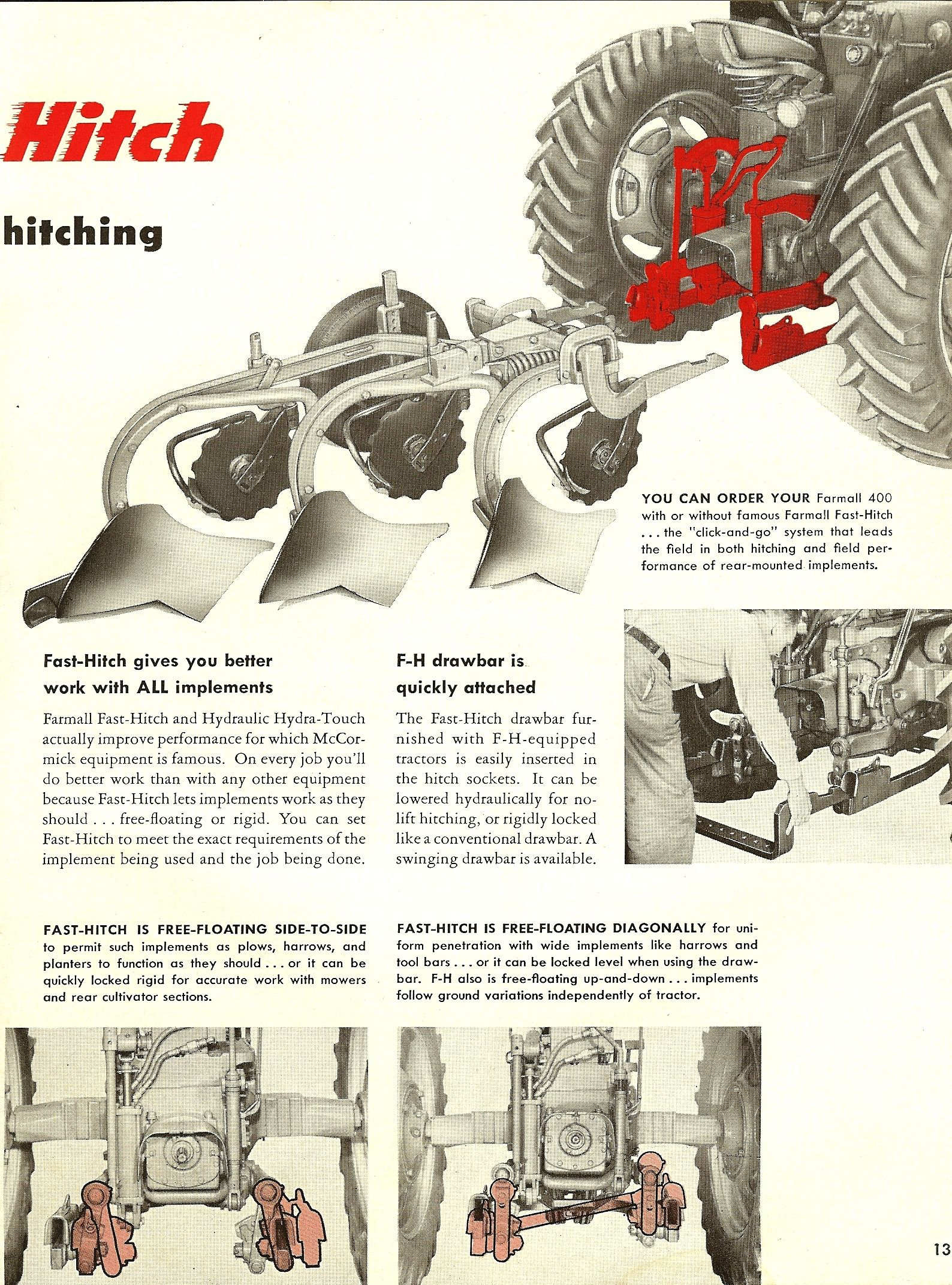 farmall international harvester advertising pinterest jpg 1588x2143 400 farmall hitch parts [ 1588 x 2143 Pixel ]
