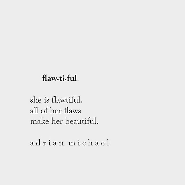 her flaws make her beautiful. what some see as faults, marks, or imperfections, i see as desirable, honest, and endearing. lovasté 6.29.16 ✌️❤️ @adrianmichaelgreen #adrianmichael #denver #love #lovaste