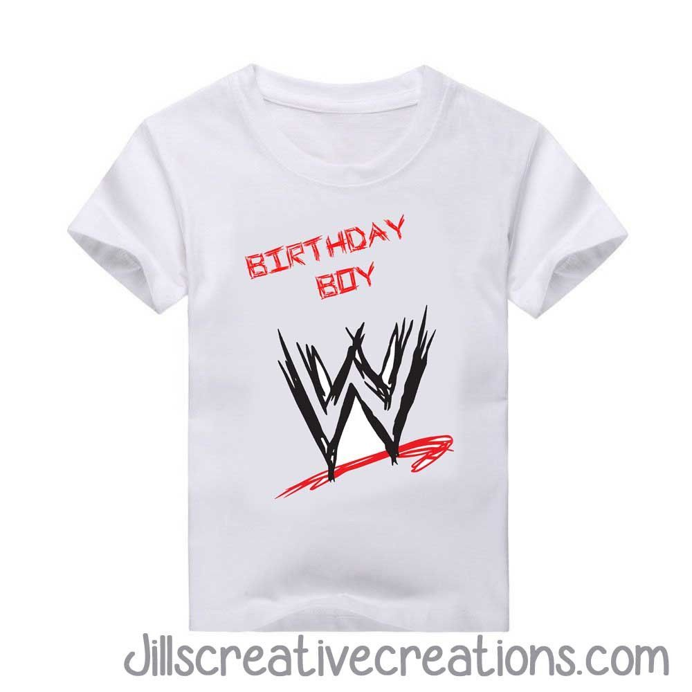 Wrestling T-Shirt | Wrestling birthday parties, Wrestling birthday ...