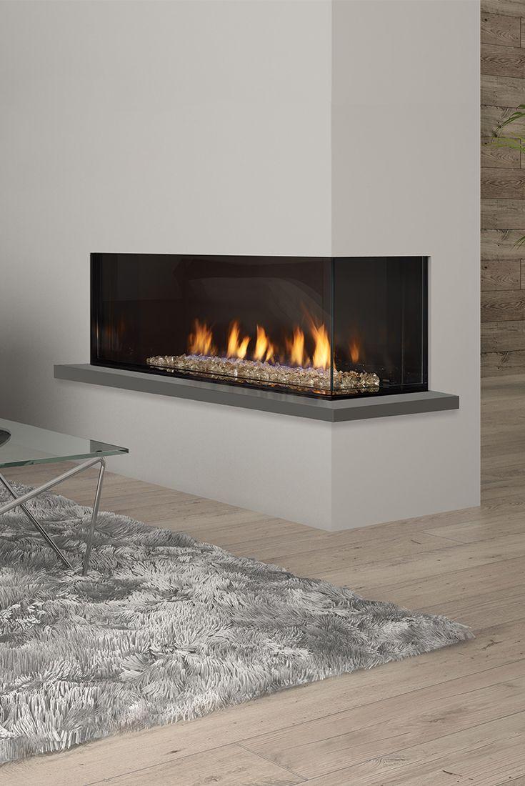 Regency City Series Chicago Corner 40re Designer Gas Fireplace