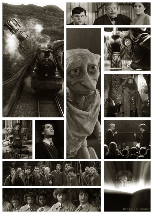 2. Random photographs from the film Harry Potter and the Chamber of Secrets