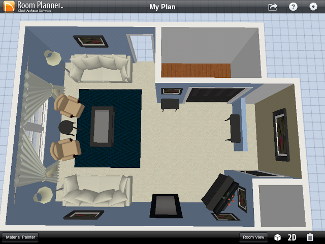 Room Planner App The Contemporary Housewife Living Room Layout