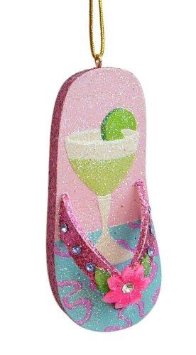 $10.88-$14.99 Margarita Flip Flop Holiday Tiki Tropical Ornament Hang them around the tropical tiki bar, design a tropical kids nursery mobile, or fill the beach house... - Margarita Flip Flop Holiday Tiki Tropical Ornament  Hang them around the tropical tiki bar, design a tropical kids nursery mobile, or fill the beach house Christmas tree with our big assortment of these unique pieces of fun.  ...