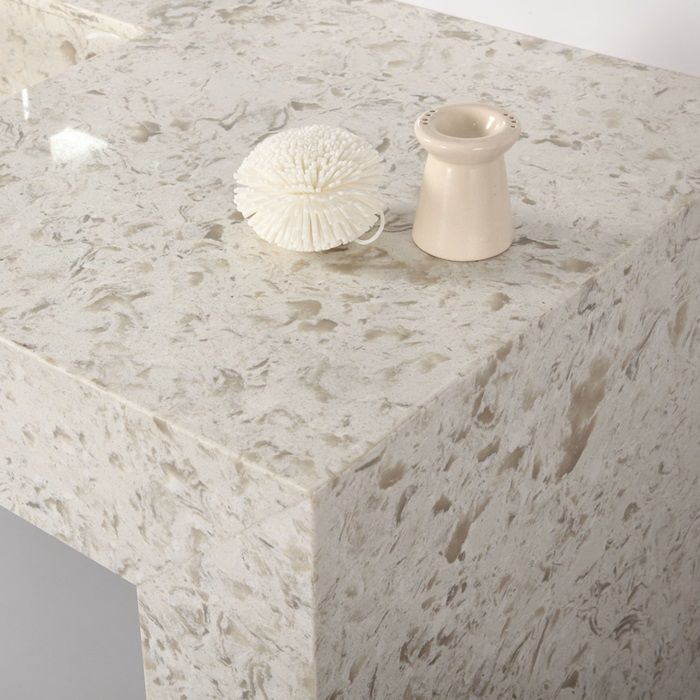 Seashell Quartz Slab | Arizona Tile...great Replacement And Less Expensive  Then Cambria