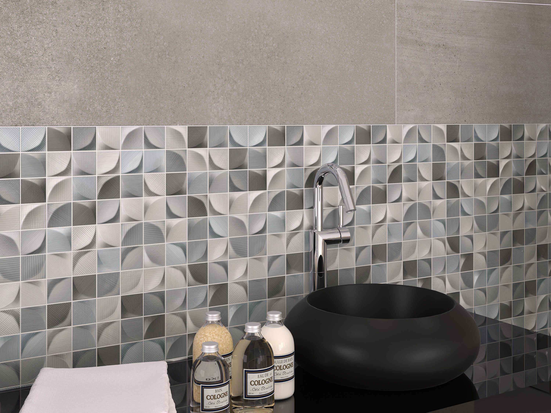3d Tissu Dark Designer Ceramic Tiles From Dune Cermica All