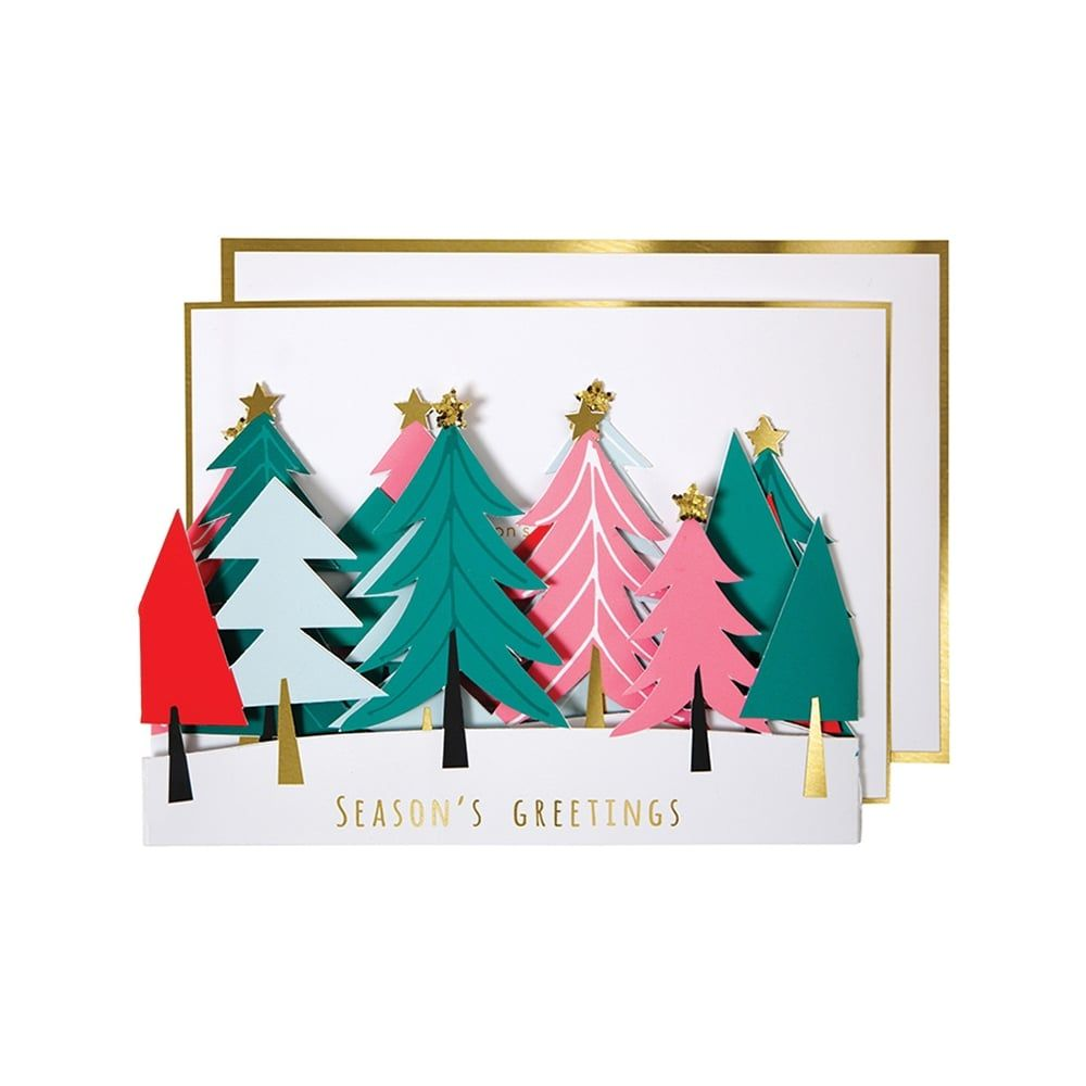 Image Result For Turquoise Tree Christmas Card