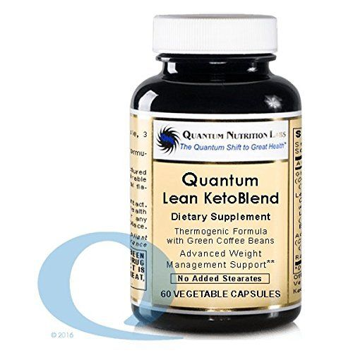 Quantum Lean Advantage Ketoblend 180 Vcaps 3 Bottles Green Coffee Bean Extract For Adrenal Support Adrenal Support Supplements Best Supplements For Health